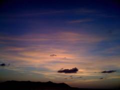 にゃんこ 公式ブログ/夕日の恵みにゃ 画像1