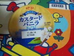 にゃんこ 公式ブログ/カスタードバニラヨーグルト 画像1