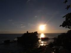 にゃんこ 公式ブログ/夕日に向かって走れーーっ 画像1