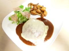 にゃんこ 公式ブログ/豆腐ハンバーグ 画像1