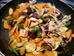 石井智也 公式ブログ/野菜たっぷりなすの味噌炒め 画像2