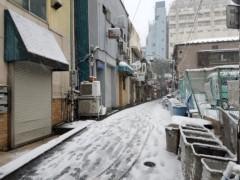 石井智也 公式ブログ/雪のゴールデン街 画像2