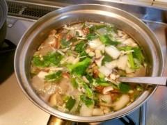 石井智也 公式ブログ/野菜とキノコのスープ 画像1