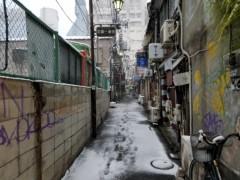 石井智也 公式ブログ/雪のゴールデン街 画像3