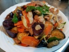 石井智也 公式ブログ/野菜たっぷりなすの味噌炒め 画像1