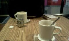 石井智也 公式ブログ/カフェにて 画像1