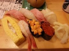 石井智也 公式ブログ/寿司ランチ 画像1