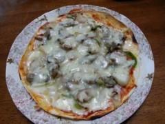 石井智也 公式ブログ/簡単トルティーヤ生地のシーフードピザ 画像1