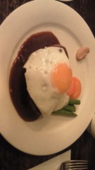 笠原直樹(キングジョー) 公式ブログ/ガッツリ1人旅・ハンバーグ定食にて 画像1