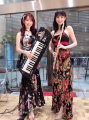 keiko(Vanilla Mood) 公式ブログ/上大岡の京急百貨店での演奏でした♪ 画像1