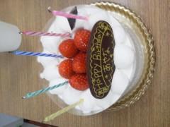 笹川亜矢奈 公式ブログ/誕生日でしたー☆ 画像1