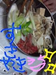 あおい 公式ブログ/すき焼き(>ω<)inオバアチャン家 画像1