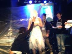 渋沢一葉 公式ブログ/顔面ケーキ… 画像2