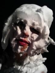 渋沢一葉 公式ブログ/顔面ケーキ… 画像1