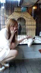 渋沢一葉 公式ブログ/後輩がヤギに食べられましたw 画像1