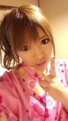 渋沢一葉 公式ブログ/浴衣で告知 画像1