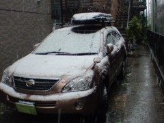 あっち幾三 公式ブログ/雪かよ・・・ 画像1