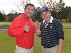 あっち幾三 公式ブログ/山田隆夫チャリティーゴルフコンペ 画像1