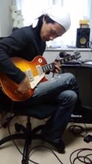 川久保秀一 公式ブログ/今日はギターダビング 画像1