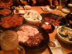 高槻純 公式ブログ/焼き肉(o^∀^o) 画像1