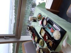 OZ 公式ブログ/雪景色で朝食 画像1