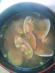大沢樹生 公式ブログ/あさりの味噌汁に助けられました^^; 画像1