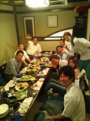 大沢樹生 公式ブログ/昨夜の食事会♪ 画像1