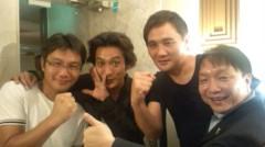 大沢樹生 公式ブログ/元世界チャンピオンに囲まれて♪ 画像1