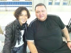 大沢樹生 公式ブログ/チョイチョイ横綱と♪ 画像1
