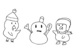 negio & negiko-ネギオ & ネギコ- 公式ブログ/雪だるまを 画像1