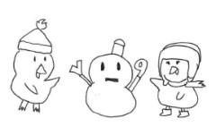 negio & negiko-ネギオ & ネギコ- 公式ブログ/雪だるまに 画像1