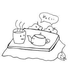 negio & negiko-ネギオ & ネギコ- 公式ブログ/寒いから 画像1
