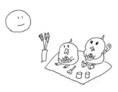 negio & negiko-ネギオ & ネギコ- 公式ブログ/満月(・_・) 画像1