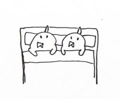 negio & negiko-ネギオ & ネギコ- 公式ブログ/寝よー 画像1