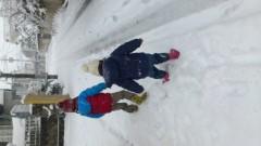井内志保 公式ブログ/雪の一日 画像2