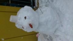 井内志保 公式ブログ/雪の一日 画像3