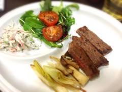 亀岡久世 公式ブログ/お肉食べたくて… 画像1