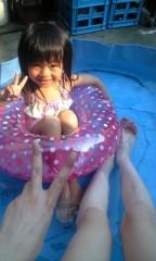 小野まりえ 公式ブログ/お子さまプール。。。 画像1