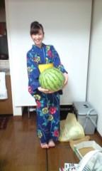 小野まりえ 公式ブログ/デカ西瓜。。。 画像1