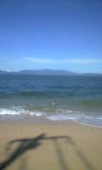 小野まりえ 公式ブログ/砂浜。。。 画像1