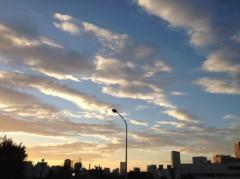 葵うらら 公式ブログ/夕焼けo(^▽^)o 画像1