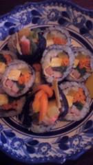 チェウニ 公式ブログ/今日は韓国の、のり巻きを食べました。 画像1