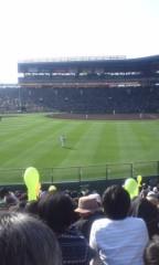 甲斐 真里 公式ブログ/甲子園球場。 画像1