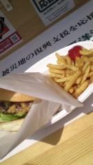 甲斐 真里 公式ブログ/南京町『吉祥吉 神戸牛のステーキバーガー』 画像3