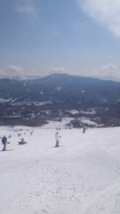 甲斐 真里 公式ブログ/池の平スキー場に 画像1
