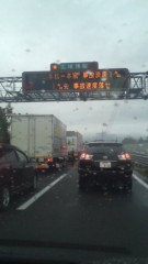 甲斐 真里 公式ブログ/渋滞(;´Д`) 画像1