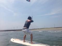 甲斐 真里 公式ブログ/カイトサーフィンを初体験♪ 画像2