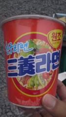 甲斐 真里 公式ブログ/韓国のカップヌードル。 画像1