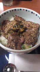 甲斐 真里 公式ブログ/菅生PA『牛タン麦飯丼』 画像1