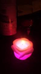 甲斐 真里 公式ブログ/バラ色なローソク。 画像1